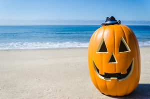 Happy Halloween background with pumpkins in naples fl