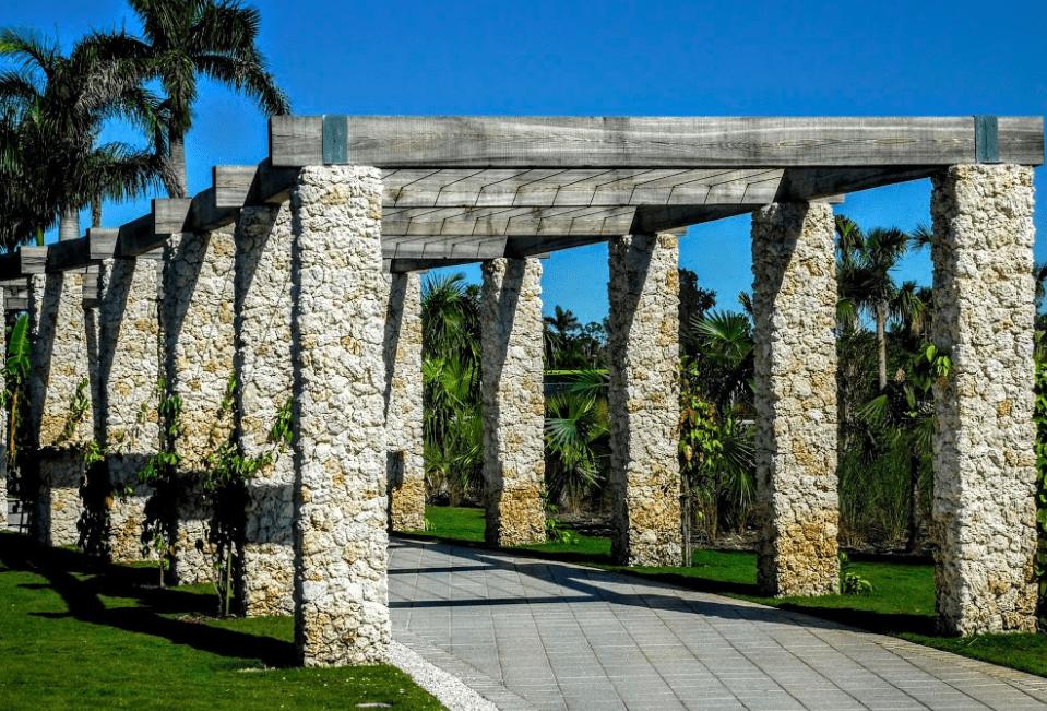 Naples Botanical Gardens Archway